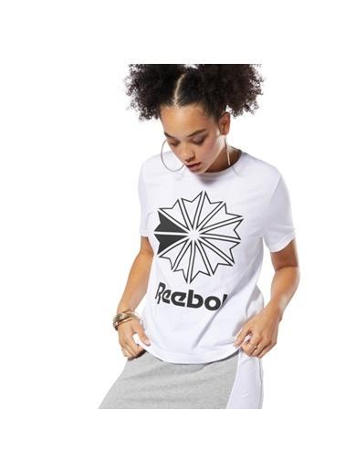 Reebok Classıcs Bıg Logo Graphıc Tışört Beyaz